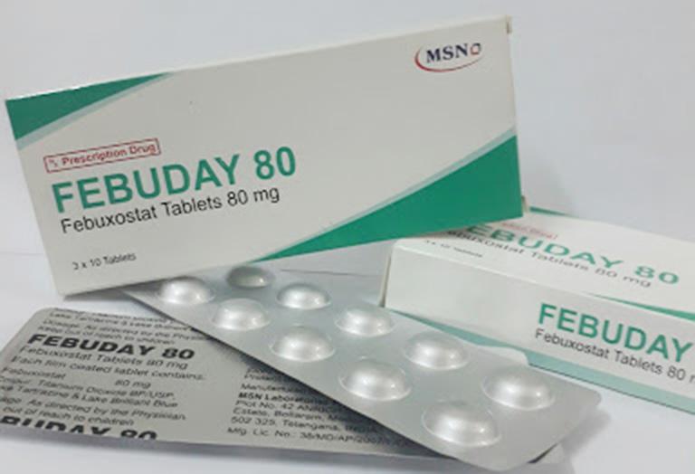 thuốc mới chữa bệnh gout
