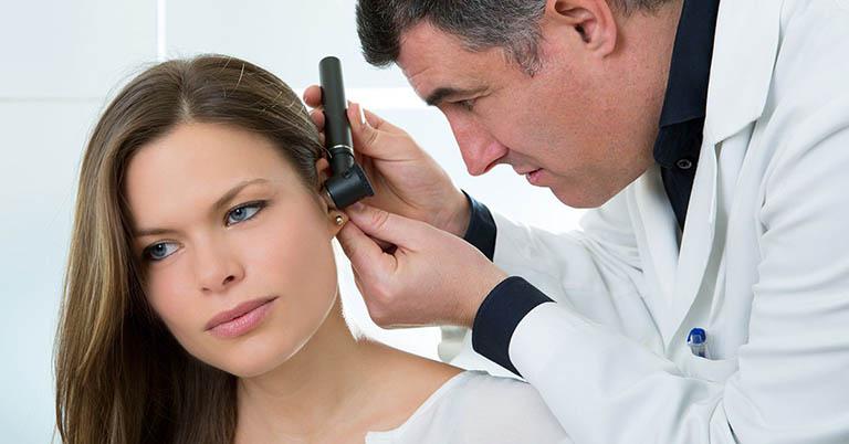 chẩn đoán ù tai