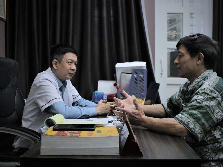Chú Sử đến thăm khám tại nhà thuốc Đỗ Minh Đường
