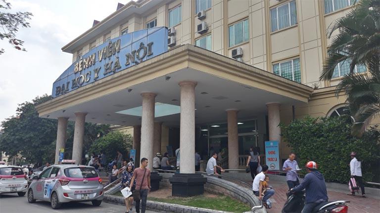 Đau gót chân khám ở bệnh viện nào tốt nhất? - Bệnh viện Đại Học Y Hà Nội