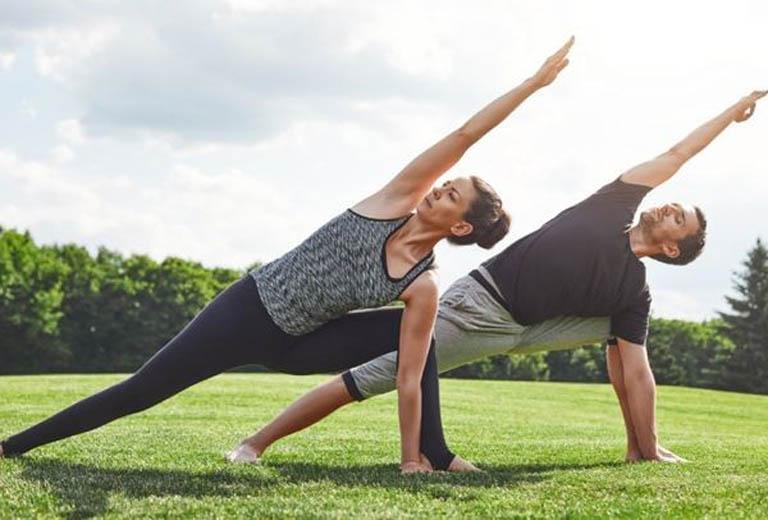 Tập luyện thể dục thể thao là một trong những cách giúp cải thiện sức khỏe và chống ung thư khá tốt