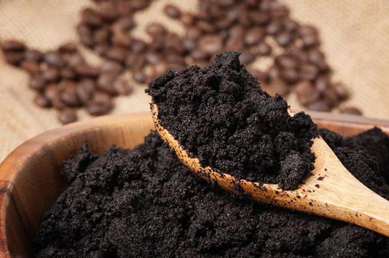 Bã cà phê có tác dụng gì