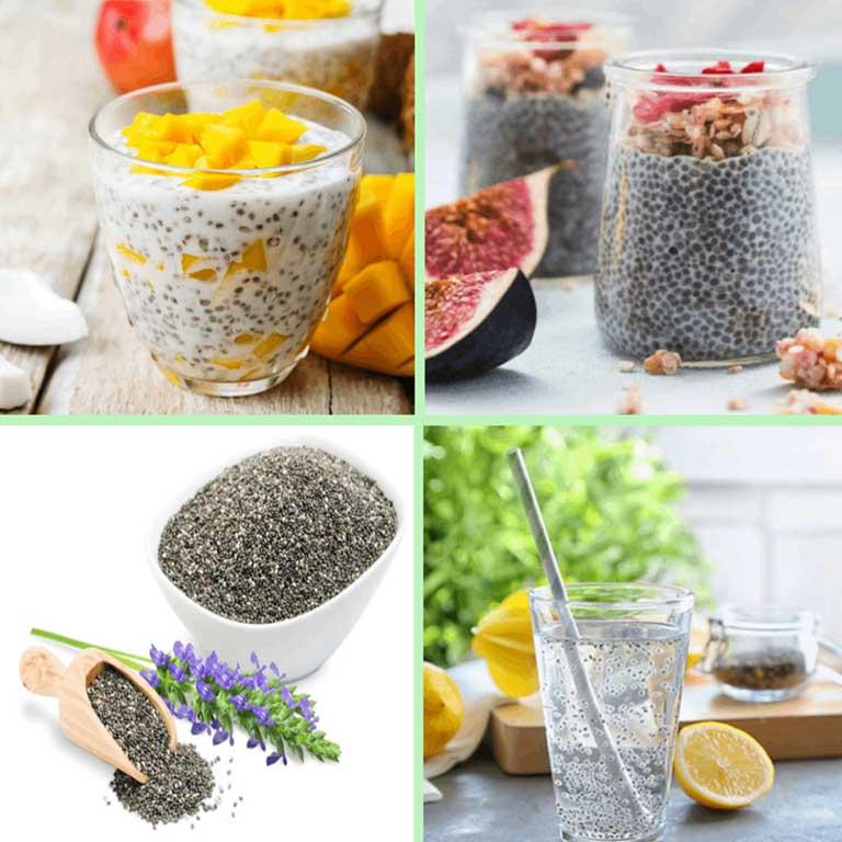 cách ăn hạt chia