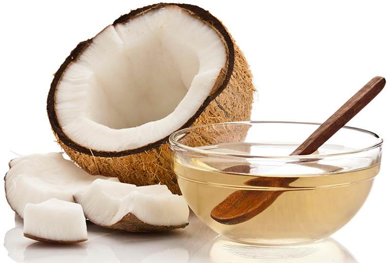 tác dụng của dầu dừa trong làm đẹp