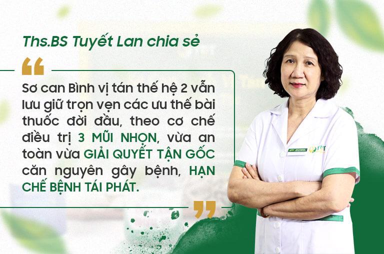 Bác sĩ Tuyết Lan chia sẻ về bài thuốc