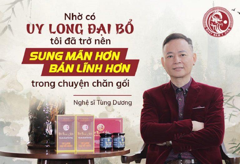 Nghệ sĩ Tùng Dương đã tin dùng bài thuốc
