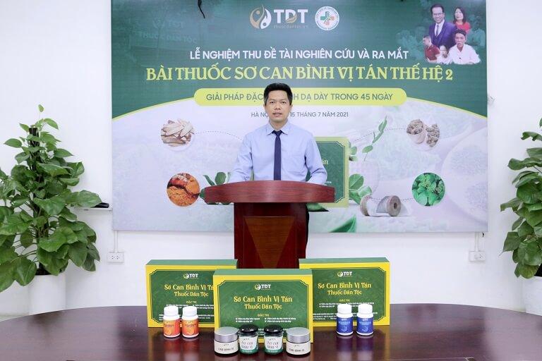Ông Nguyễn Quang Hưng đặt rất nhiều kỳ vọng vào bài thuốc trong tương lai