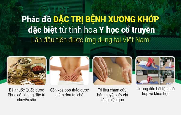 Trung tâm Thuốc dân tộc sở hữu phác đồ điều trị xương khớp chuyên sâu
