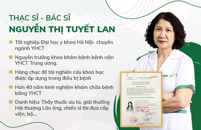 Chân dung Ths.Bs Nguyễn Thị Tuyết Lan - Giám đốc chuyên môn Trung tâm Thuốc dân tộc