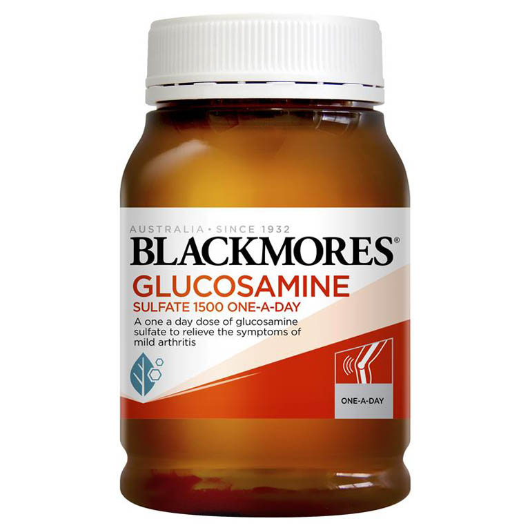 thuốc trị khô khớp Blackmores Glucosamine Sulfate 1500mg One-A-Day