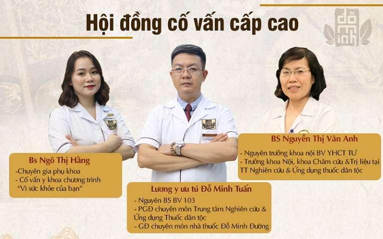 Hội đồng cố vấn cấp cao tham gia vào quá trình phục dựng bài thuốc Phụ Khang Đỗ Minh