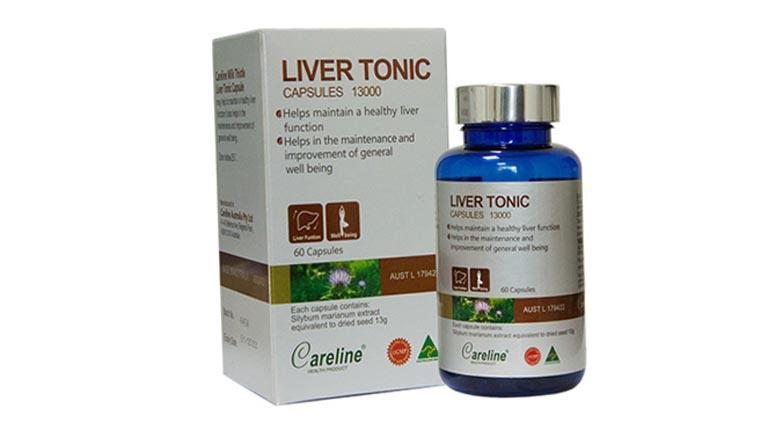 Thuốc tây điều trị gan nhiễm mỡ Liver Tonic Capsule