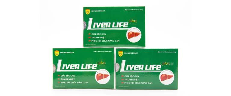 Thuốc trị gan nhiễm mỡ Liver Life