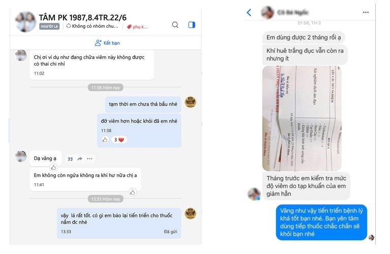 Nhiều chị em phản hồi tích cực về bài thuốc Phụ Khang Đỗ Minh hỗ trợ điều trị huyết trắng bất thường