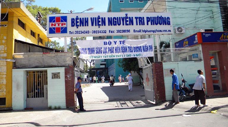 bệnh viện Nguyễn Tri Phương chữa xơ gan tại TPHCM