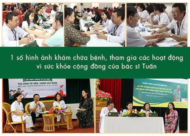 Bác sĩ Lê Hữu Tuấn và những hoạt động đóng góp vì cộng đồng