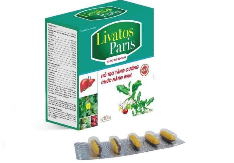 thuốc trị gan nhiễm mỡ độ 1 Livatos Paris