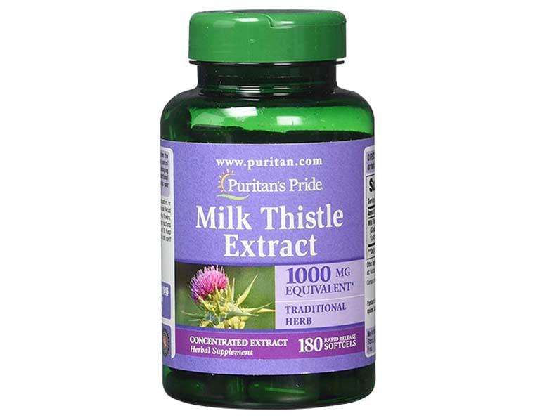 thuốc trị gan nhiễm mỡ độ 2 Milk Thistle