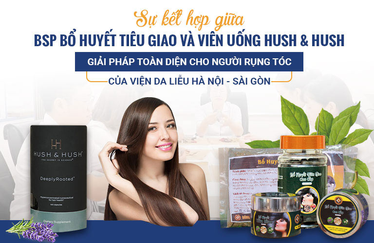 Giải pháp loại bỏ rụng tóc hiệu quả tại Viện Da liễu Hà Nội - Sài Gòn