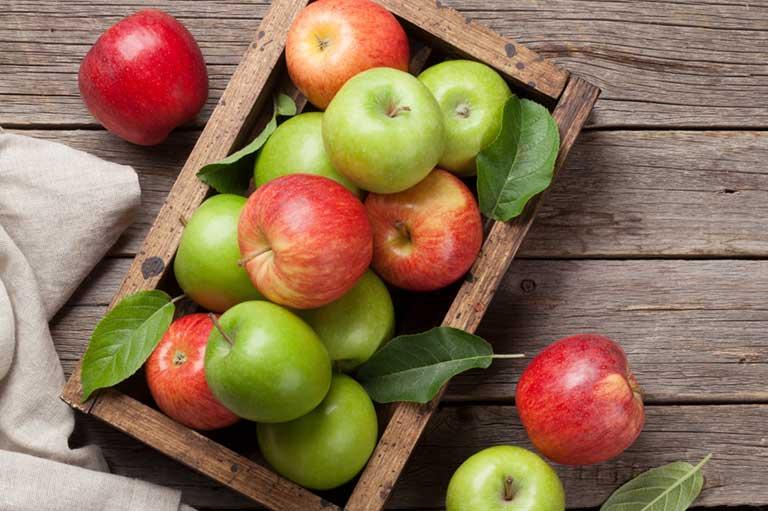 Xơ Gan Nên Ăn Hoa Quả Gì? - quả táo